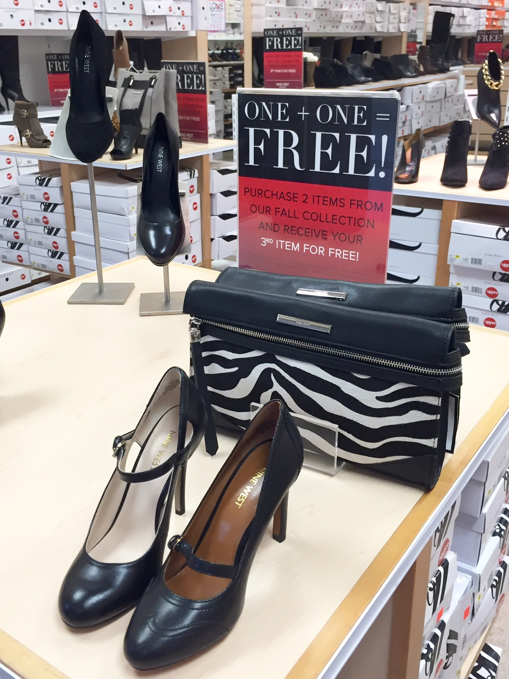 Nine West Shoe Studio Outlet Clearance Sale